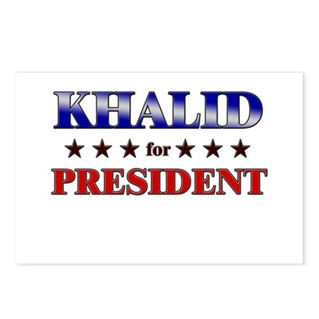 KHALID for president Postcards (Package of 8)