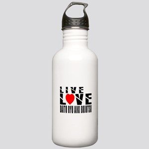 Live Love Daito Ryu Ai Stainless Water Bottle 1.0L