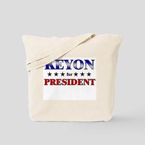 KEYON for president Tote Bag
