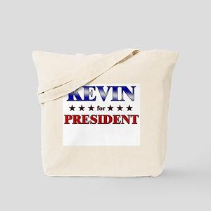 KEVIN for president Tote Bag
