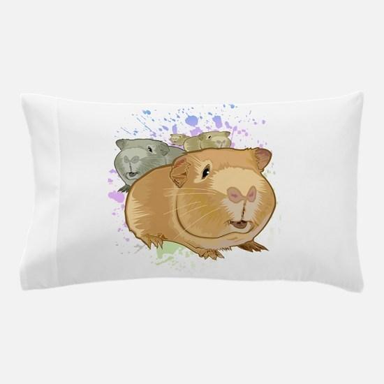 Guinea Pigs Pillow Case