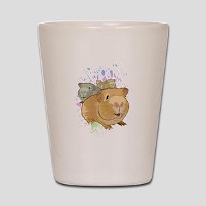 Guinea Pigs Shot Glass
