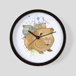 Guinea Pigs Wall Clock