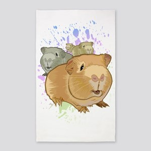 Guinea Pigs Area Rug