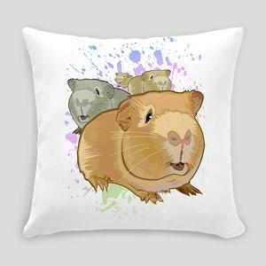 Guinea Pigs Everyday Pillow