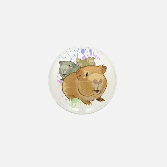 Guinea Pigs Mini Button
