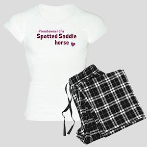 Spotted Saddle horse pajamas