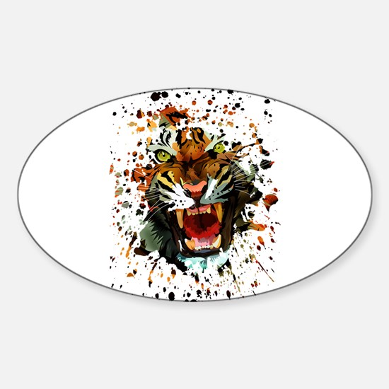 Tiger Roar Decal