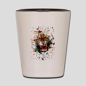 Tiger Roar Shot Glass
