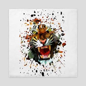 Tiger Roar Queen Duvet