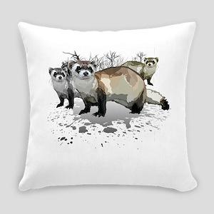 Ferrets Everyday Pillow