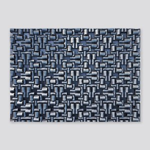 Stainless Steel 5'x7'Area Rug