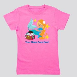 Blond Mermaid Girl's Tee