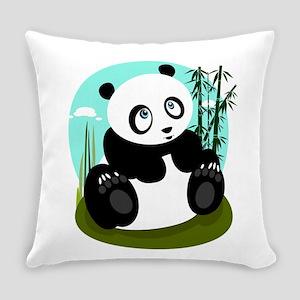 Baby Panda Everyday Pillow