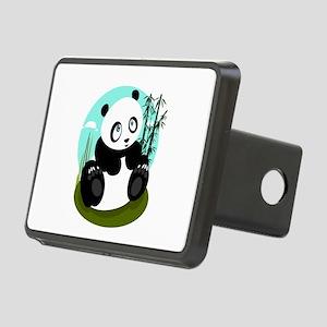 Baby Panda Rectangular Hitch Cover