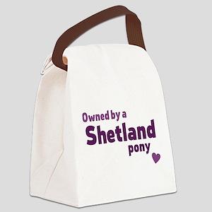 Shetland pony Canvas Lunch Bag