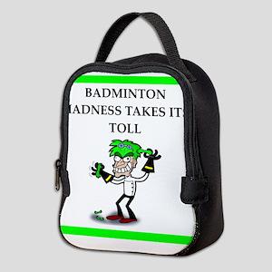 badminton joke Neoprene Lunch Bag