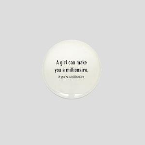 Millionaire Mini Button