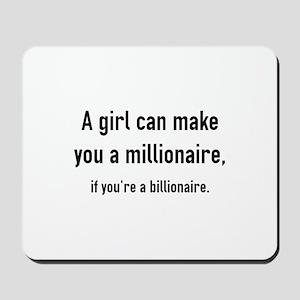 Millionaire Mousepad