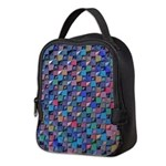 Colored Glass Neoprene Lunch Bag