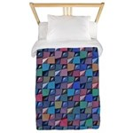 Colored Glass Twin Duvet
