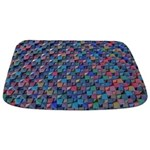Colored Glass Bathmat