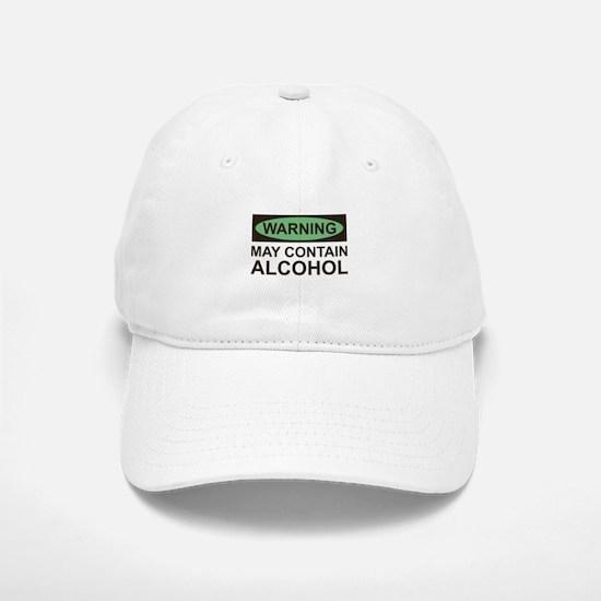 May Contain Alcohol Baseball Baseball Cap