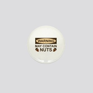 May Contain Nuts Mini Button