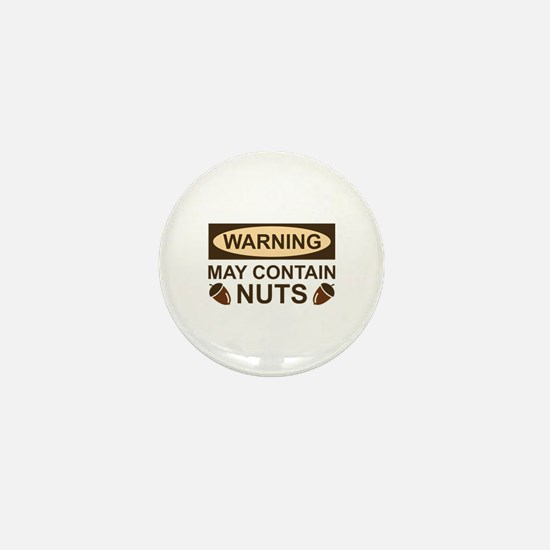 May Contain Nuts Mini Button (10 pack)