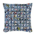 Newspaper Woven Throw Pillow