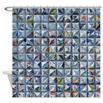 Newspaper Shower Curtain