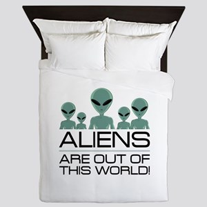 Out Of This World Queen Duvet