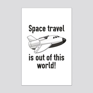 Out Of This World Mini Poster Print
