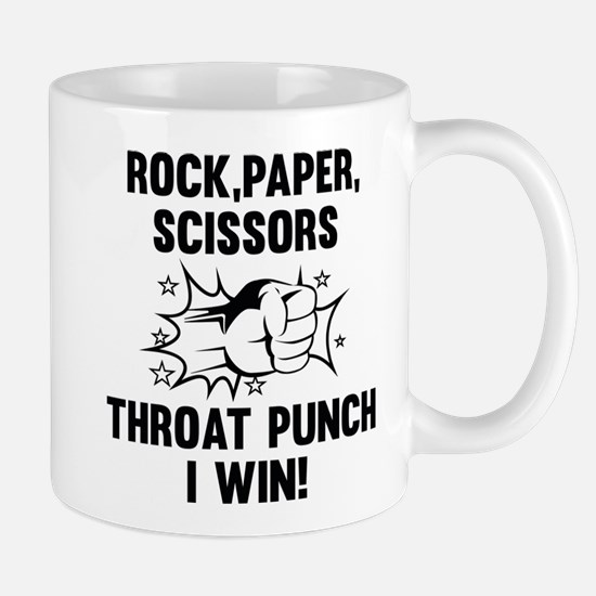 Throat Punch I Win Mug