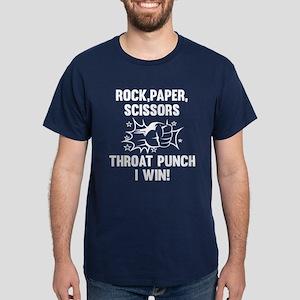 Throat Punch I Win Dark T-Shirt