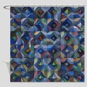 Corrugated Iron Shower Curtain