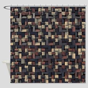 Dark Chocolate Shower Curtains