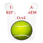 tennis joke Bib