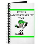 tennis joke Journal