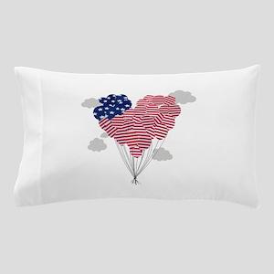 Balloons USA Pillow Case