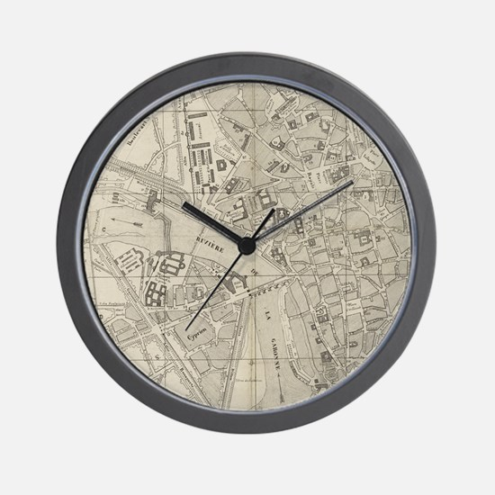 Cute Toulouse Wall Clock