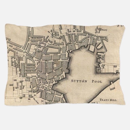 Cute Plymouth uk Pillow Case