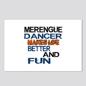 Merengue Dancer Makes Lif Postcards (Package of 8)
