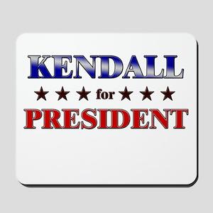 KENDALL for president Mousepad
