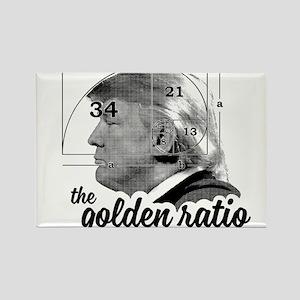 Donald Trump - the golden ratio Magnets