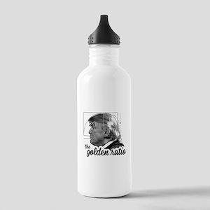 Donald Trump - the golden ratio Water Bottle