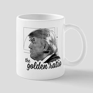 Donald Trump - the golden ratio Mugs