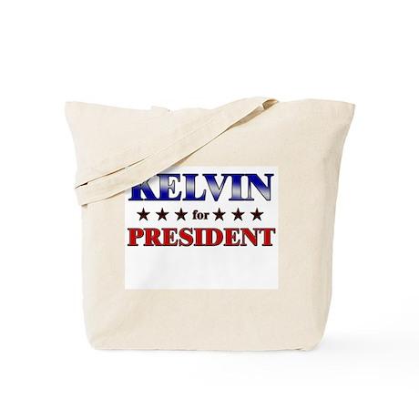 KELVIN for president Tote Bag
