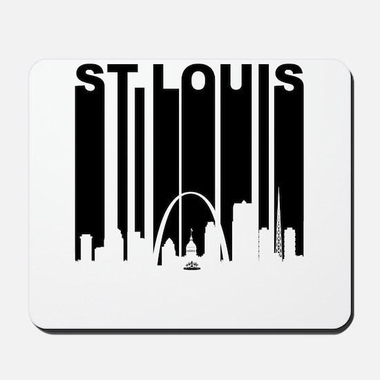 Retro St Louis Cityscape Mousepad