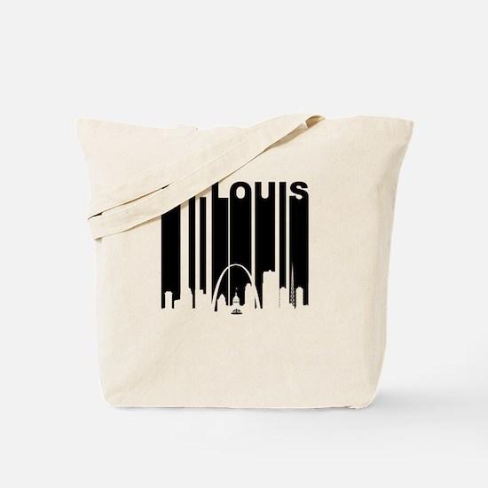 Retro St Louis Cityscape Tote Bag